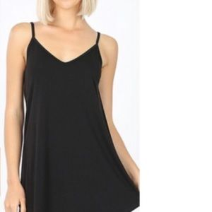 Tops - Front and back reversible cami.